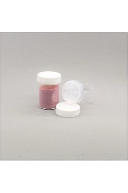 Small Container Screw Cap (20 pcs)  小粉罐 (旋转式) -20入