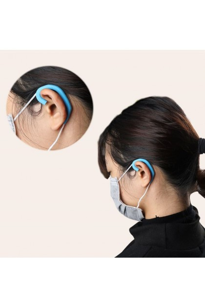 Silicon Ear Hook for Facial Mask Protect Ears 5 Pairs 口罩防勒耳套 5对