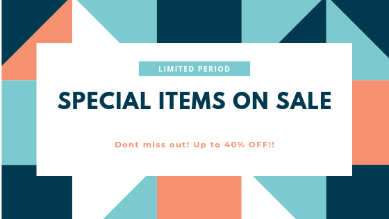 Special Items on Sale